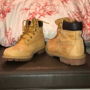 Timberlands worn once